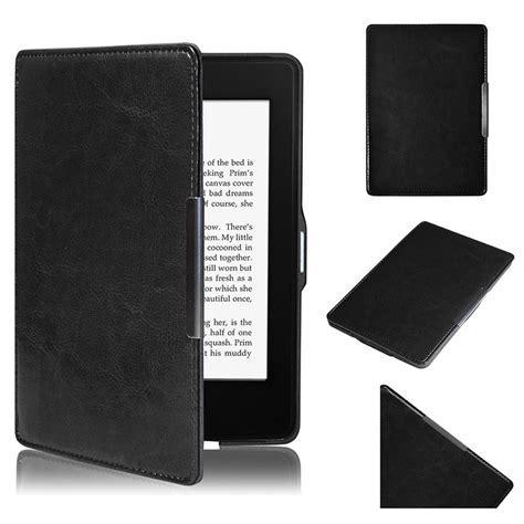 noir magn 233 tique veille housse en cuir 201 tui pour kindle paperwhite 1 2 ebay