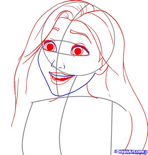 How To Draw Step By Step Disney Characters Wwwimgkid