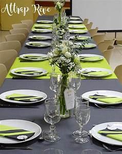 Idée Déco Table Anniversaire : attrap 39 reve anniversaire en gris et vert ~ Melissatoandfro.com Idées de Décoration