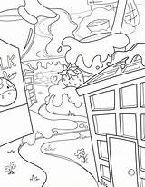 Coloring Waffle Pages Way Waffles Activity sketch template