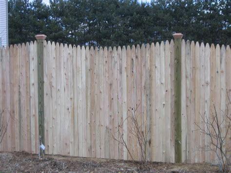 rustic stockade fence panels design ideas