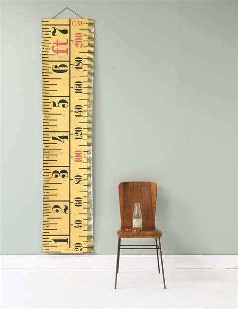 ideas  height ruler  pinterest growth chart