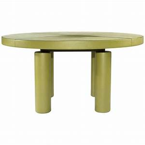 Poltrona Frau Ceo Cube Round Office Meeting Table By
