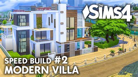 Sims 4 Moderne Häuser moderne villa bauen inspirierend grundriss die sims 4 haus