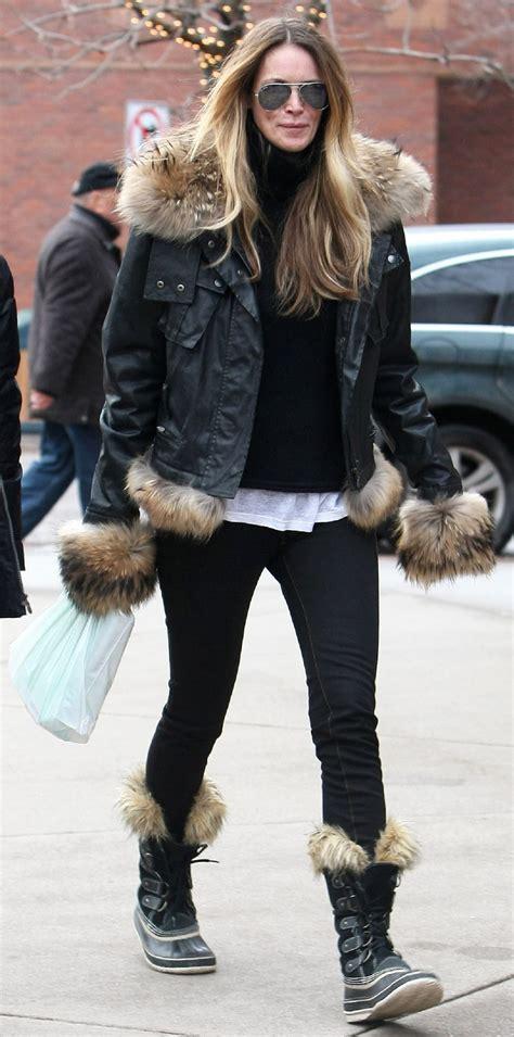 celebrities love  sorel boots instylecom