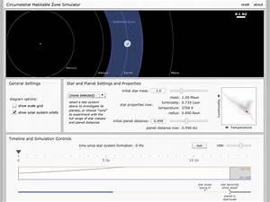 Un Simulador Online Para Ayudar A Entender Lo Que Es Un  U201cplaneta Habitable U201d