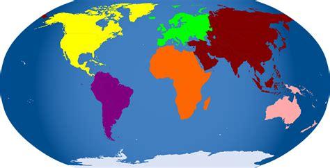 Carte Du Monde Gratuite Vectorielle by Image Vectorielle Gratuite Carte Du Monde Continents