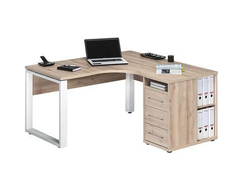 bureau d ude structure bois bureau d angle bureau d 39 angle ch ne blanc corner but