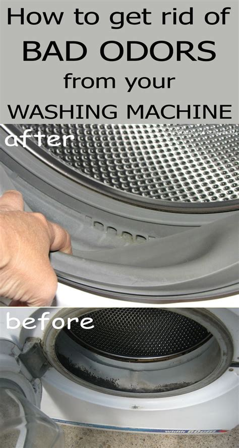 washing machine bad rid cleaning odors clean smell tips hinch mrs solutions washer smells hacks cleaner soda machines baking read