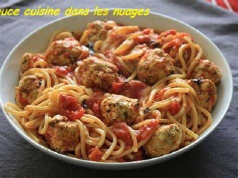 boulettes de viande sauce tomate cuisine italienne recettes de boulettes de viande et tomates