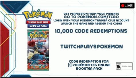 We did not find results for: Twitch Plays Pokemon is a code for free cards in the ...