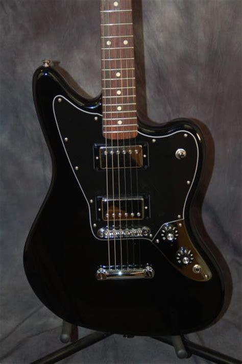 Fender Jaguar Hh Blacktop by Fender Jaguar Blacktop Hh Humbuckers Pro Setup Fender