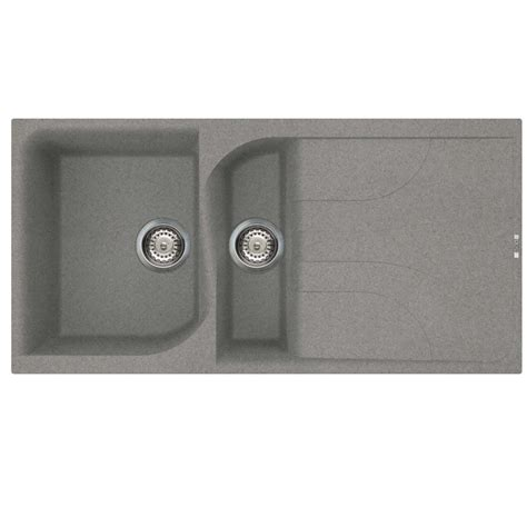 kitchen sink titanium reginox ego 475 titanium sink kitchen sinks taps 2939