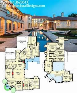 Modern, Mansion, House, Plans, 2020