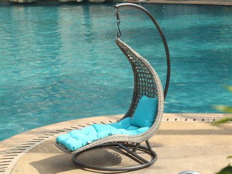 le meilleur fauteuil de bureau fauteuil suspendu iwazaru résine tressée coussin inclus