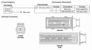 Hyundai Elantra  Variable Intake Solenoid  Vis  Valve
