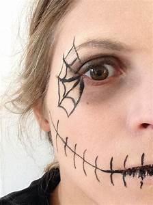 Maquillage Halloween Enfant Facile : maquillage halloween facile archives prettylittletruth ~ Nature-et-papiers.com Idées de Décoration