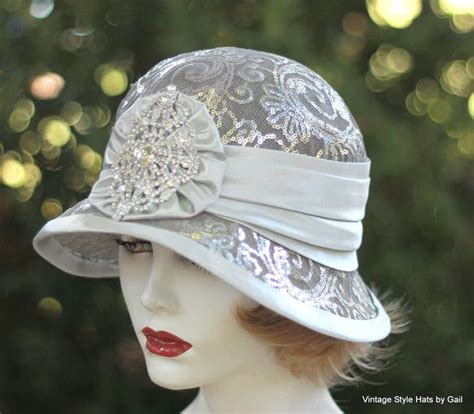 custom   vintage style cloche wedding hat