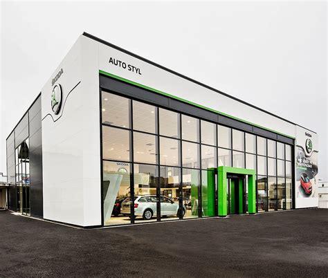 skoda reveals  dealer showroom design autoevolution