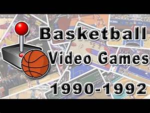 Basketball Video Games: History Of (1990 - 1992) - YouTube