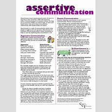 17 Best Images About Assertiveness On Pinterest  Make Mistakes, Communication Skills And Triangles