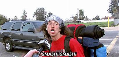 Hitchhiker Smash Gifs Funny Wild Kai Brandon