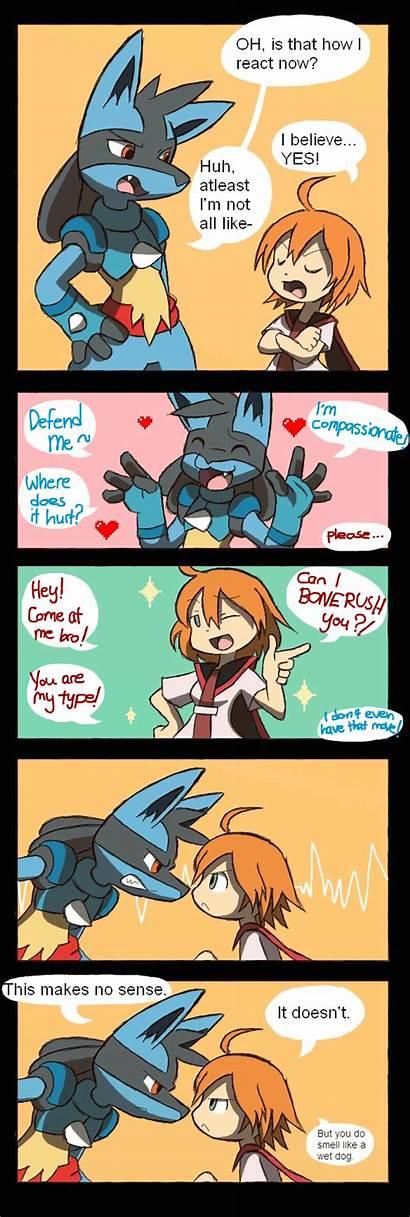 Pokemon Comic Lucario Comics Deviantart Subtle Funny