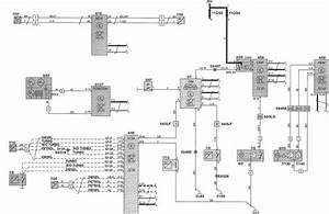 Volvo V70  2002  - Wiring Diagrams - Instrumentation