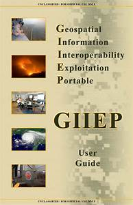 U    Fouo  National Guard Geospatial Information