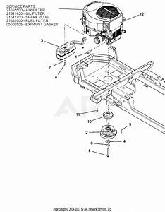 Ariens 915177  016000 -   Ikon-x 52 Parts Diagram For Engine