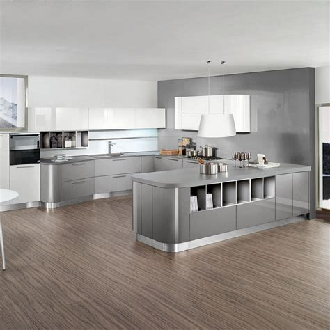 light grey paint for kitchen stylish and cool gray kitchen cabinets for your home 8999