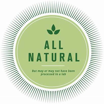 Natural Labels Misleading Honest Being Say Should