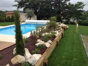 les 25 meilleures idees de la categorie amenagement With amenagement autour de la piscine 6 galerie photos tour de piscine jardin mineral bassin