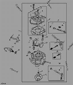 Carburetor - Utility Vehicle John Deere 550 S4