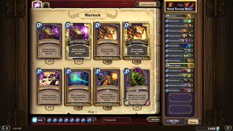 Looking For An Automated Deck Builder Hearthstone