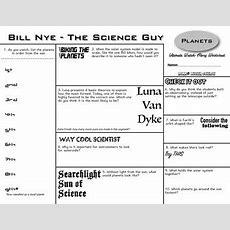 Bill Nye  Space Bundle  3 Episodes Planets, Sun, Gravity Tpt
