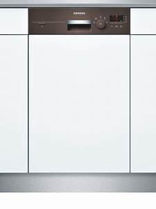 Spülmaschine 55 Cm : siemens sr55e402eu teilintegrierter geschirrsp ler einbau a a 9 ma gedecke 45 cm ~ Markanthonyermac.com Haus und Dekorationen