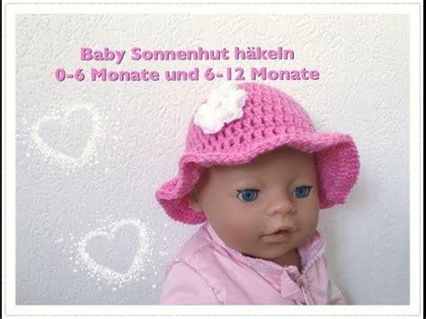 einfachen baby sonnenhut haekeln   monate und   monate