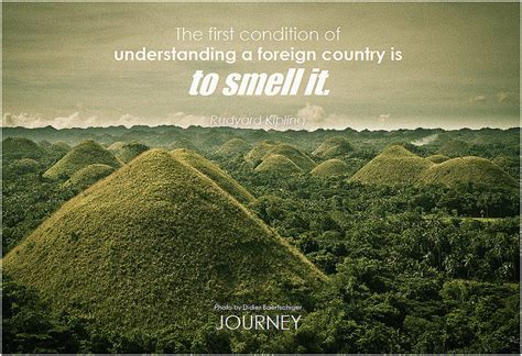 travel quote understanding  foreign country