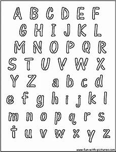 printable alphabet stencils advanced images search With fun letter stencils