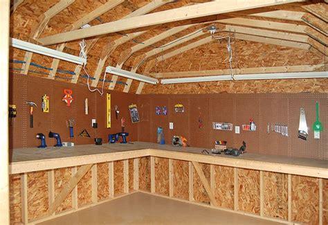 great workshop   shed diy storage shed workshop