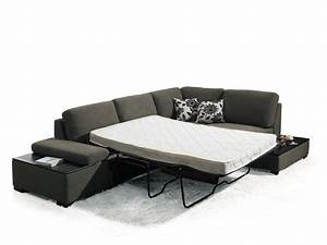 Recliner sofa bed aldo manual reclining sofa mocha for Sectional sofa with bed and recliner