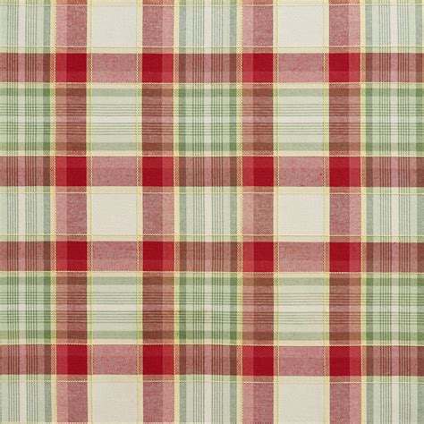 plaid upholstery fabric green and country plaid upholstery fabric by the yard