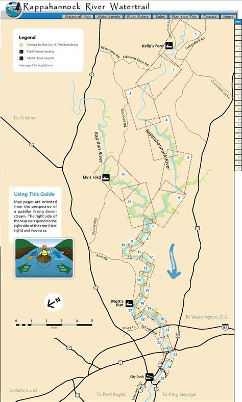 rappahannock river water trail find  chesapeake