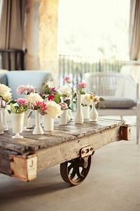 Table Basse Balcon : deco palette fleur ~ Teatrodelosmanantiales.com Idées de Décoration