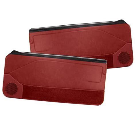 acme mustang deluxe door panels  hardtop  manual