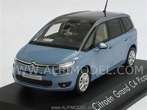 Norev Citroen Grand C4 Picasso 2013  Teles Blue   1  43