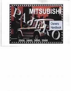 Mitsubishi Motor  Mitsubishi Pajero Sport 2016 Owners