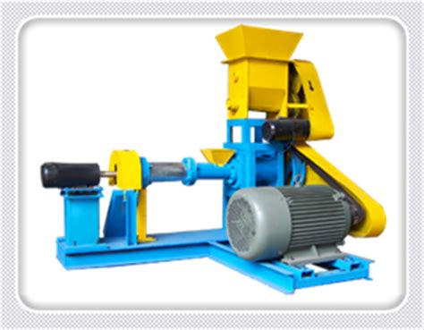 single screw feed extruders  floating fish feed