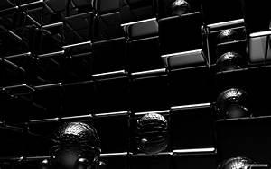 Black Background Design 3D Wallpaper: Desktop HD Wallpaper ...